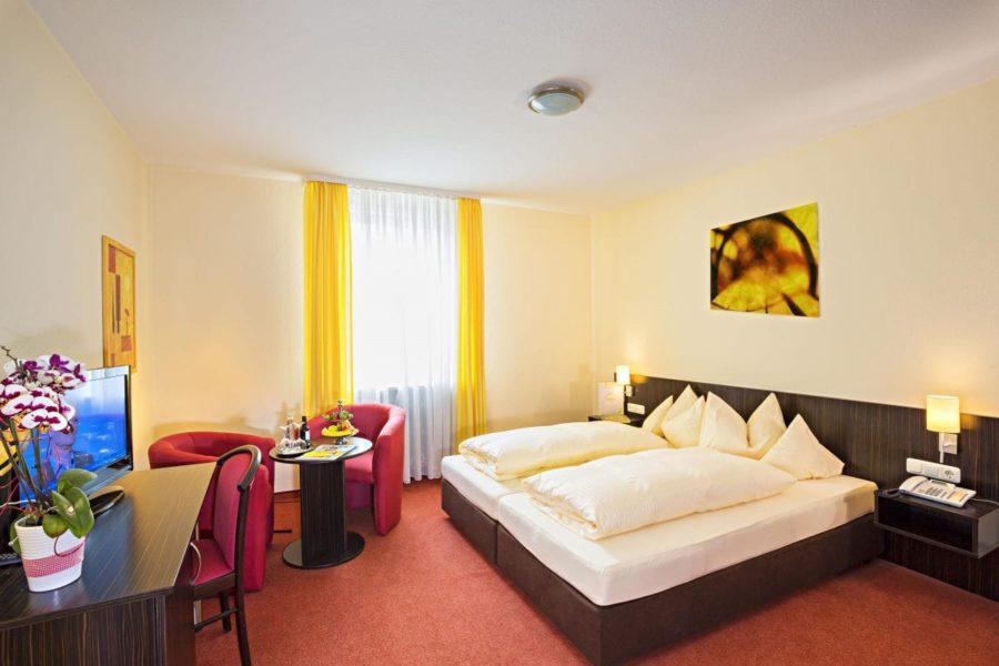 Doppelzimmer ohne Balkon Hotel Sonnengarten
