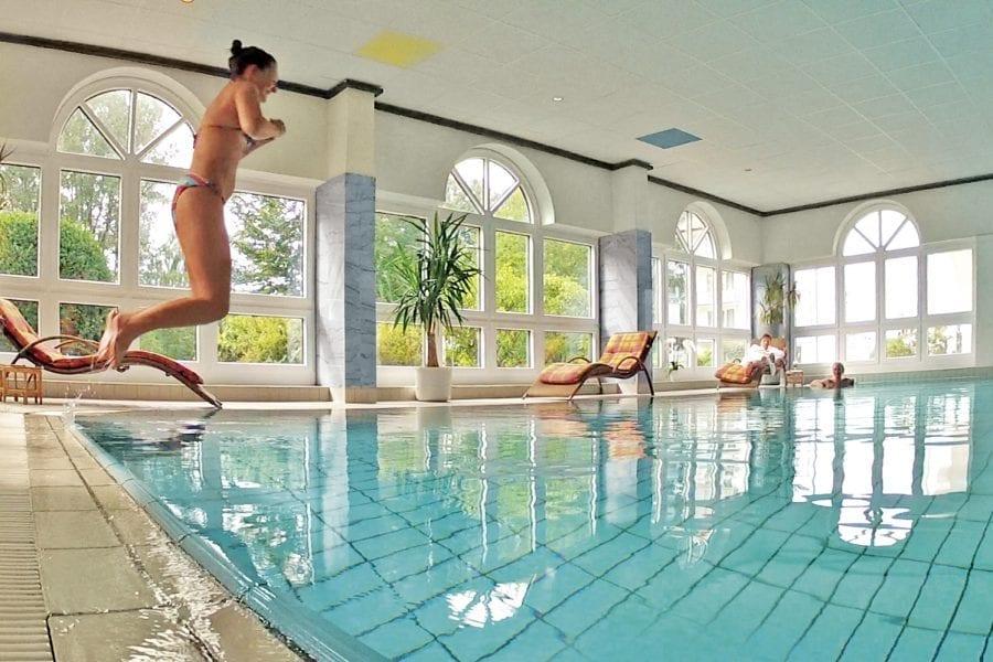 Hallenbad - Erholung pur im Hotel Sonnengarten Bad Wörishofen