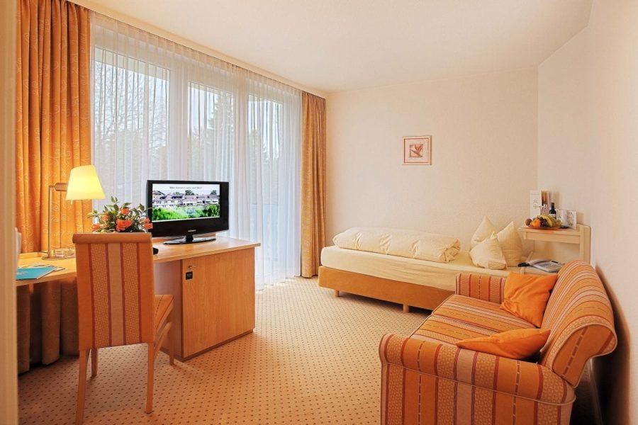 Einzelzimmer Hotel Sonnengarten Bad Wörishofen