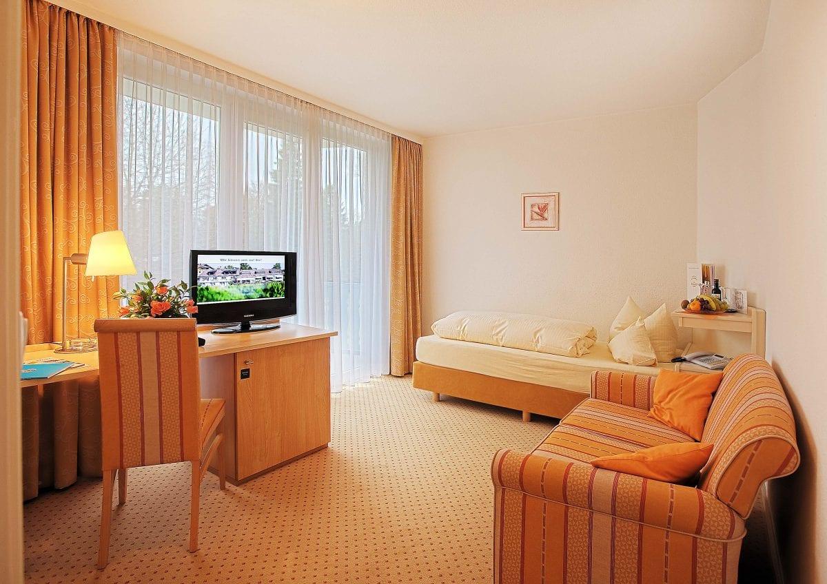 Einzelzimmer buchen im Hotel Sonnengarten Bad Wörishofen