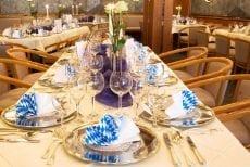 Veranstaltungen und Events im Hotel Sonnengarten Bad Woerishofen bayerisch eingedeckt