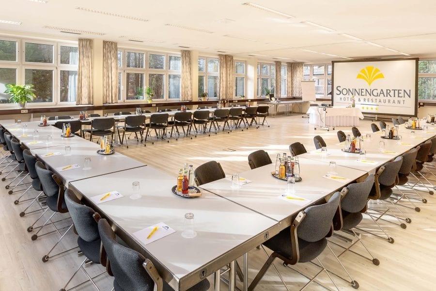 Holl-1+2 Seminar- und Tagungsräume im Hotel Sonnengarten Ausstattung
