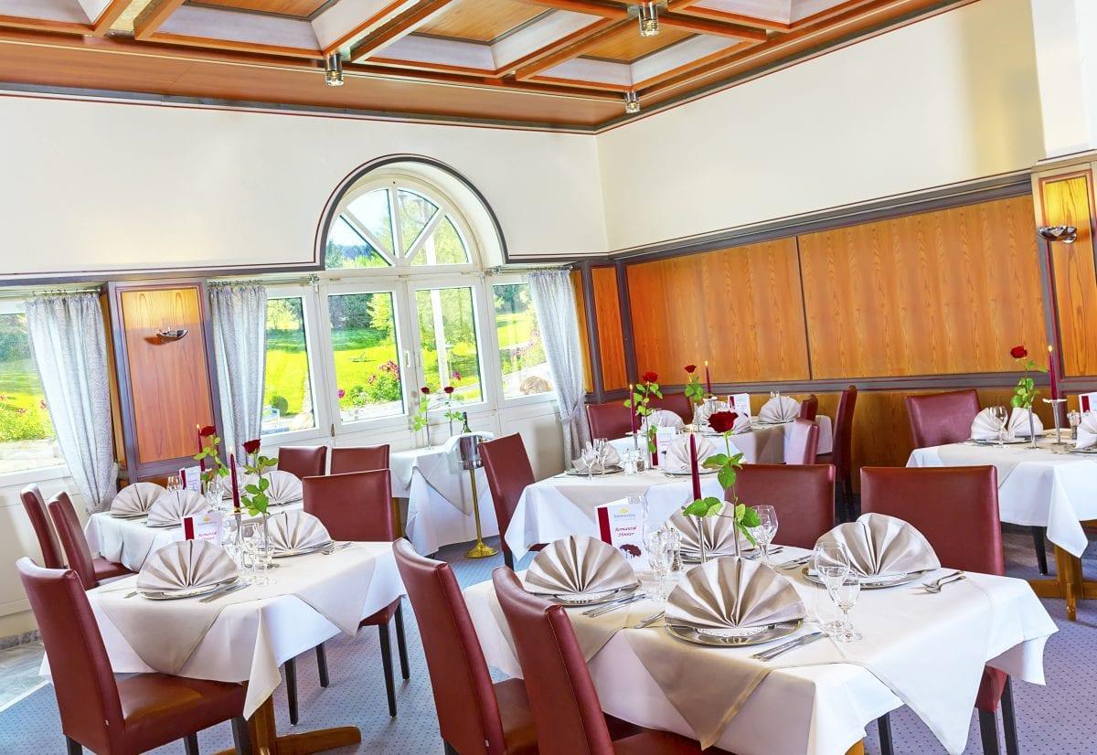 Restaurant im Hotel Sonnengarten Bad Wörishofen