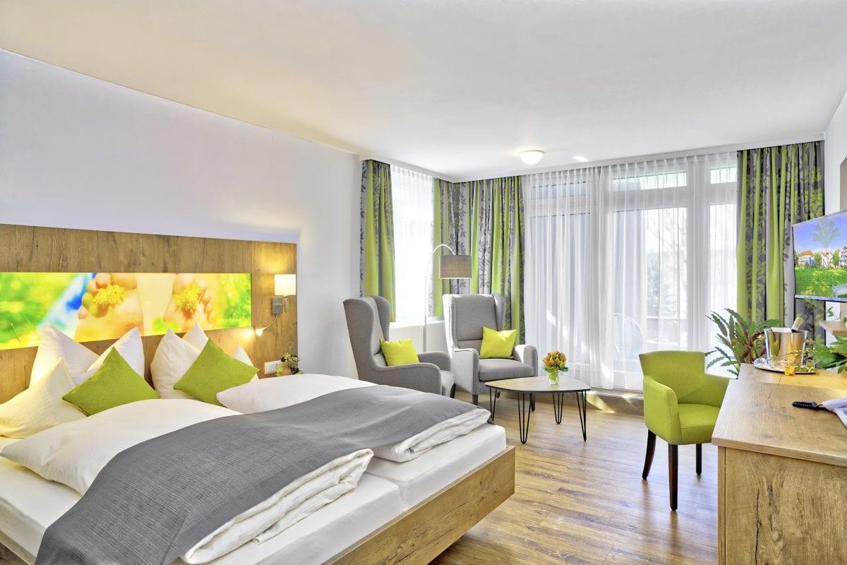 Wohlfühlsuiten im Hotel Sonnengarten Bad Wörishofen nahe Augsburg, Kempten und München buchen