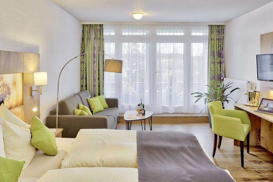 Doppelzimmer Balkon Hotel Sonnengarten