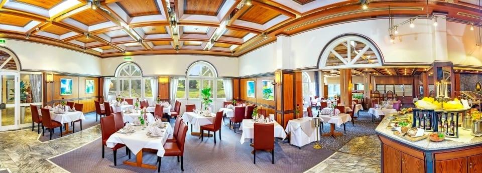 Unser Speisesaal im Hotel Sonnengarten