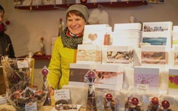 Kreatives auf dem Mindelheimer Weihnachtsmarkt (Foto: Fotoclub Mindelheim)