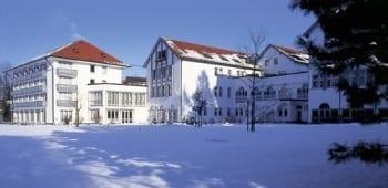 Hotel Sonnengarten Außenansicht Winter