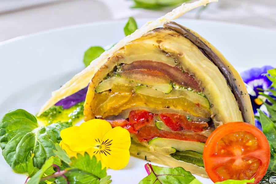 Mediterrane Gemüse Restaurant Hotel Sonnengarten