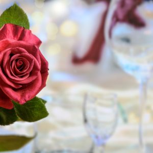 Romantisches Abendessen Hotel Sonnengarten